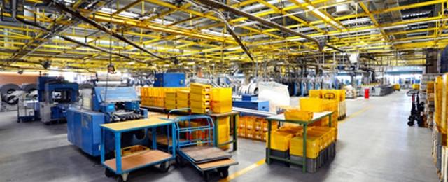 Industriereinigung - Reinigung von Lager- und Produktionsflächen